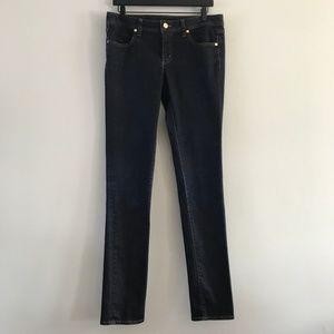 Tory Burch Super Skinny Dark Wash Jean 31